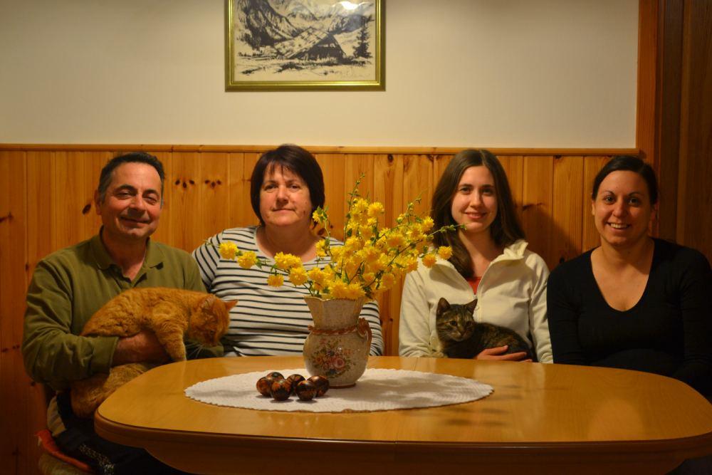 družina Pretner apartmaji Pretner v Lepeni