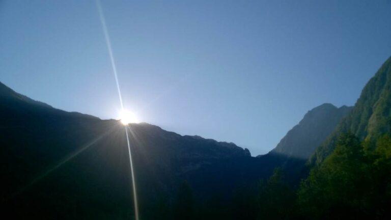 Sončni vzhod-Julijske Alpe-Velika Baba-Lepena